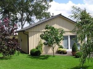 """Außenanicht - Ferienhaus """"Unter den Birken"""" *** in Bispingen"""