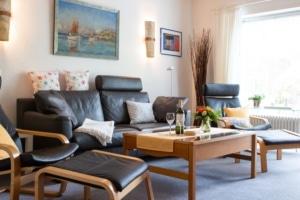 Wohnzimmer - Ferienhaus unter den Birken