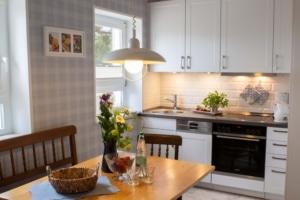 Küche - Ferienhaus unter den Birken in Bispingen