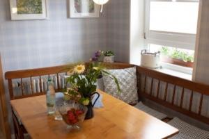Sitzceke in der Küche - Ferienhaus unter den Birken in Bispingen