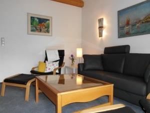 """Wohnzimmer im Ferienhaus """"Unter den Birken"""" in Bispingen"""